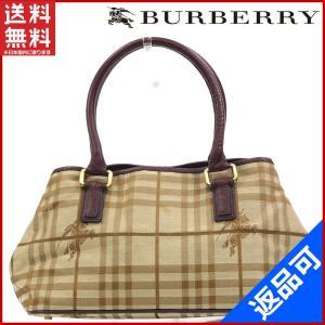 [半額セール!] バーバリー バッグ BURBERRY ハンドバッグ ノバチェック 中古 X16902|brands