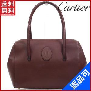 [半額セール!] カルティエ バッグ Cartier ハンドバッグ 中古 X16985|brands