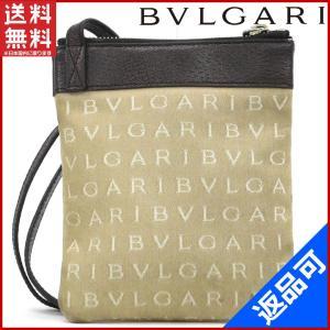 ブルガリ BVLGARI バッグ ショルダーバッグ 斜めがけショルダー ロゴマニア 中古 X17082|brands