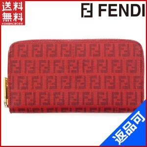 フェンディ FENDI 財布 長財布 ラウンドファスナー財布 ズッキーノ 中古 X17120 brands