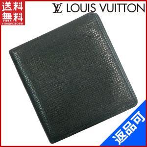 [半額セール!] ルイヴィトン 財布 LOUIS VUITTON 二つ折り札入れ タイガ 中古 X17181 brands