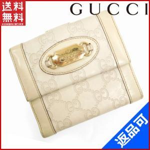 [半額セール!] グッチ 財布 GUCCI 二つ折り財布 グッチシマ 中古 X5935|brands