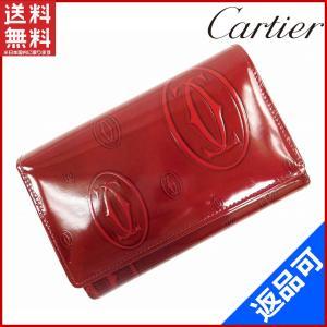 ■管理番号:X6843 【商品説明】 カルティエの  L字ファスナー財布です♪ 高級感のある艶やかな...