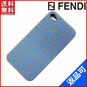 フェンディ 7AR297 FENDI iPhoneケース ズッキーノ アイフォンケース 中古 X6975