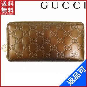 [半額セール!] グッチ 財布 212110 GUCCI 長財布 グッチシマ 中古 X7593|brands
