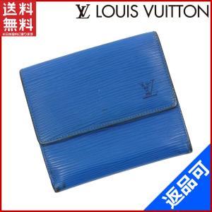 39eb21f7999e ルイヴィトン LOUIS VUITTON 財布 二つ折り財布 Wホック財布 M63485 ポルトモネ・ビエ・カルトクレディ エピ 中古 X9141