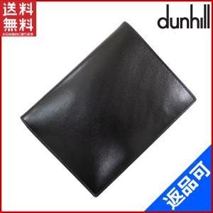 [半額セール!] ダンヒル 財布 dunhill 二つ折り札入れ (未使用品) X9152 brands