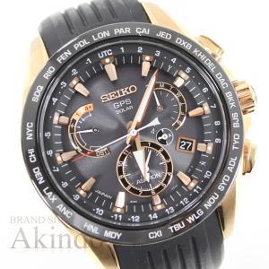 SEIKO セイコー ブライツ エキスパート SS ステンレス ソーラー電波 クロノグラフ腕時計 S...