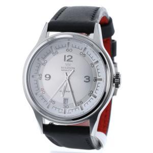 b18ec903bb マーヴィン GENT メカニカル 自動巻き シルバー文字盤 腕時計 M102-13 ステンレススチール レザー メンズ MARVIN 中古  K90223166