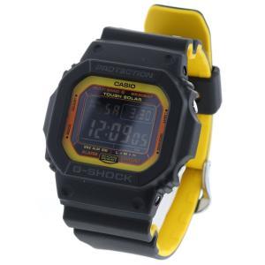 7861f83790 カシオ Gショック 限定 ソーラー デジタル文字盤 腕時計 GW-5610BY 樹脂 ブラック ボーイズ CASIO 中古 K90223185