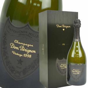 ドンペリニョン P2-1998 1998年 箱付 750ml 正規品 白シャンパン 限定 エノテーク ブラック ドン・ペリニヨン フルボトル ギフトボックス|brandshop-uprise