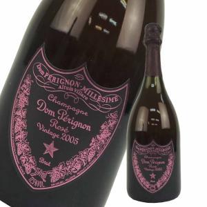 ドンペリニヨン ロゼ 2005年 箱なし 750ml 正規品 赤シャンパン ドンペリピンク フルボトル ブリュット DOMPERIGNON|brandshop-uprise