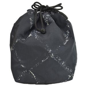 シャネル CHANEL 巾着ポーチ トラベルライン ナイロン ブラックxホワイト 定番人気|brandvalue-store
