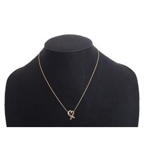 ティファニー Tiffany&Co. パロマピカソ ネックレス ラヴィングハート Ag925 シルバー ペンダント レディース 定番人気 送料無料|brandvalue-store