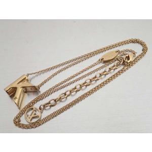 5d00e3d11d58 ルイヴィトン Louis Vuitton ネックレス LV&ME K イニシャルネックレス 金属素材 ゴールド おすすめ