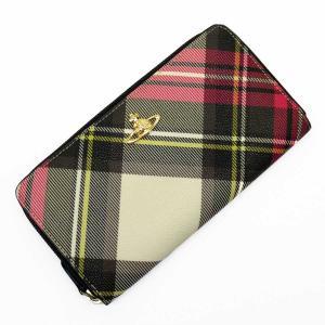 ヴィヴィアンウエストウッド Vivienne Westwood ラウンドファスナー長財布 オーブ レザー ピンクxアイボリーxカーキxブラックxゴールド 定番人気|brandvalue-store