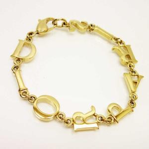 ディオール Dior ブレスレット ロゴモチーフ 金属素材 ゴールド 定番人気|brandvalue-store