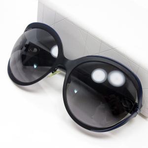 クリスチャンディオール Christian Dior サングラス 61□19 130 プラスチック レンズ:グレーグラデーション フレーム:ブラックxネイビー 定番人気|brandvalue-store