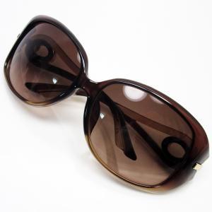 クリスチャンディオール Christian Dior サングラス 61□15 120 プラスティック フレーム:クリアブラウンxゴールド レンズ:ブラウン 定番人気|brandvalue-store