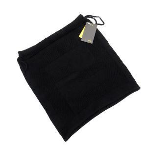 フェンディ FENDI 巾着 巾着ポーチ ニット ブラック 新品同様|brandvalue-store