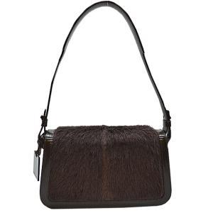 セリーヌ CELINE ハンドバッグ ハラコxパテントレザー ブラウン おすすめ|brandvalue-store