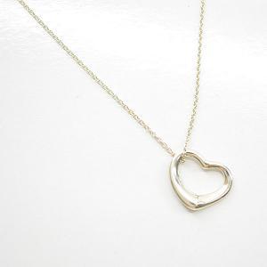ティファニー Tiffany&Co. ネックレス オープンハート SV925 シルバーカラー 定番人気|brandvalue-store