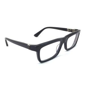クロムハーツ Chrome Hearts 眼鏡 PENETRANUS 度入り プラスチックxシルバー925 定番人気|brandvalue-store