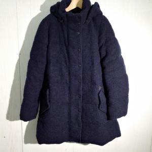ジルスチュアート ダウンコート K2364 紺 / ネイビー JILL STUART 無地|brandworks