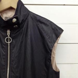ダブルスタンダードクロージング ジップアップノースリーブワンピース 51B081 黒 / ブラック DOUBLE STANDARD CLOTHING 無地|brandworks|03