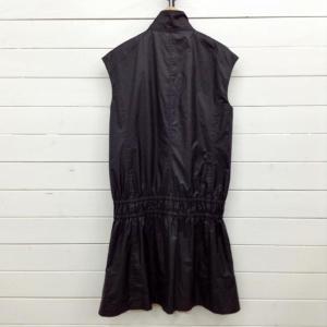 ダブルスタンダードクロージング ジップアップノースリーブワンピース 51B081 黒 / ブラック DOUBLE STANDARD CLOTHING 無地|brandworks|04