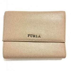 フルラ 二つ折財布 B6B271 ベージュ FURLA...