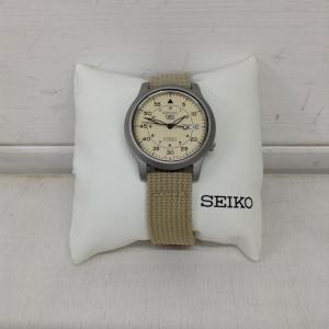 セイコー 自動巻き 腕時計 アナログ 28A0335 ベージ...