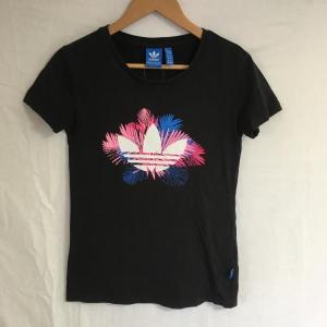 アディダス 半袖Tシャツ A4808 黒 / ブラック ad...