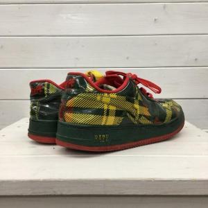 アベイシングエイプ スニーカー 靴 0099100067655 A BATHING APE チェック|brandworks|03