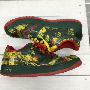 アベイシングエイプ スニーカー 靴 0099100067655 A BATHING APE チェック|brandworks|04