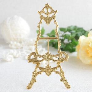 イーゼルS 真鍮製品金色 ブラス イタリア製アンティーク調雑貨|brass-alivio