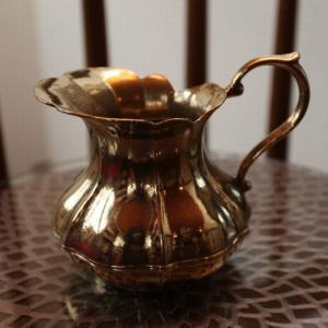 花瓶  水差し 真鍮製品 ブラス イタリア製アンティーク調雑貨|brass-alivio