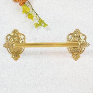 タオルハンガーR29 真鍮製品金色 ブラス イタリア製アンティーク調雑貨|brass-alivio