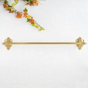 タオルハンガーR69 真鍮製品金色 ブラス イタリア製アンティーク調雑貨|brass-alivio