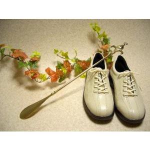 靴べら ロング・リリー 真鍮製品 ブラス イタリア製アンティーク調雑貨|brass-alivio|04