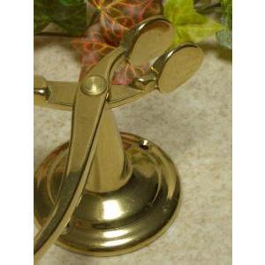 キッチンペーパーホルダー 真鍮製品金色 ブラス イタリア製アンティーク調雑貨|brass-alivio|02