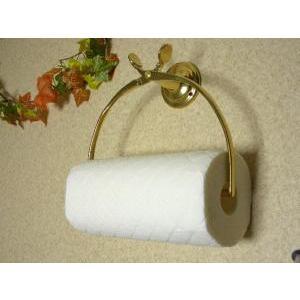 キッチンペーパーホルダー 真鍮製品金色 ブラス イタリア製アンティーク調雑貨|brass-alivio|04