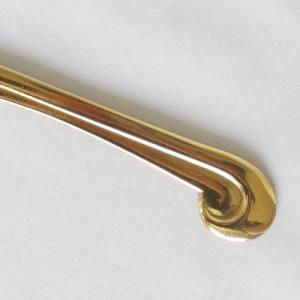 ドレスハンガー アンティーク調 真鍮製品金色 ブラス イタリア製アンティーク調雑貨|brass-alivio|04