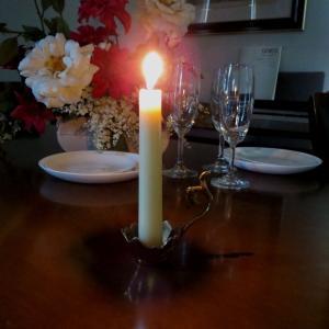 燭台1灯エッグ 真鍮製品金色 ブラス イタリア製アンティーク調雑貨キャンドルスタンド|brass-alivio|02