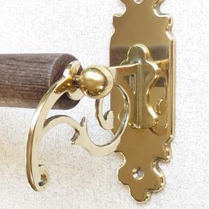 キッチンペーパーホルダーC 真鍮製品金色 ブラス イタリア製アンティーク調雑貨|brass-alivio|04