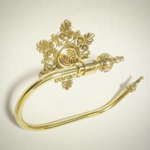 10%OFF トイレセットスノー  真鍮製品金色 ブラス イタリア製アンティーク調雑貨 brass-alivio 04
