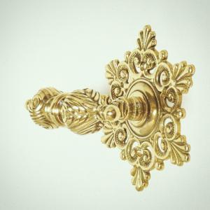 10%OFF トイレセットスノー  真鍮製品金色 ブラス イタリア製アンティーク調雑貨 brass-alivio 05
