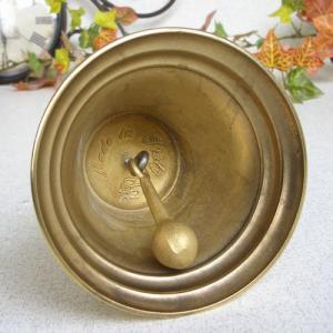 ハンドベルL 真鍮製品 ブラス イタリア製アンティーク調雑貨|brass-alivio|03