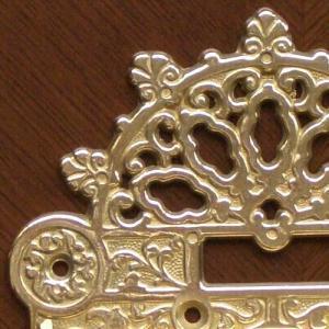 トイレットペーパーホルダークラシック 真鍮製品金色 ブラス イタリア製アンティーク調雑貨|brass-alivio|04