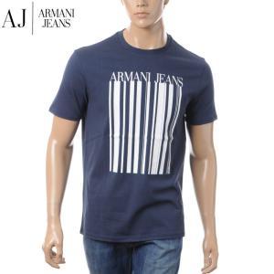 アルマーニジーンズ ARMANI JEANS クルーネックTシャツ メンズ 3Y6T18 6J00Z...